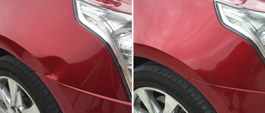 2014 Cadillac SRX Dent Removed